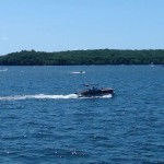 Lake Wallenpaupack Boating View 2