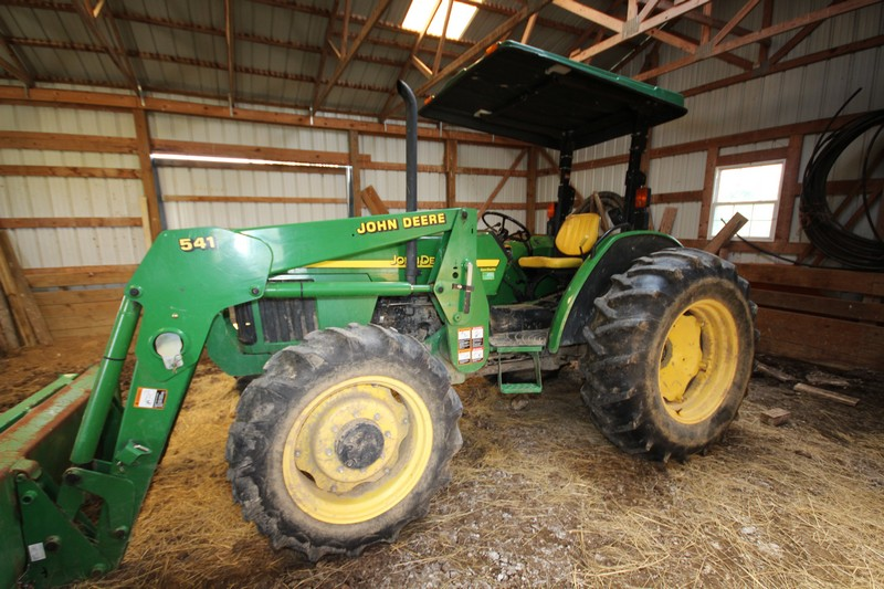 John Deere 5420 online auction