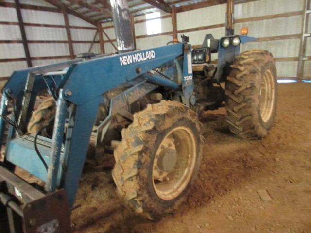 New Holland Tractor at auction