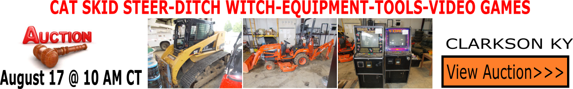 Equipment Auction Kentucky