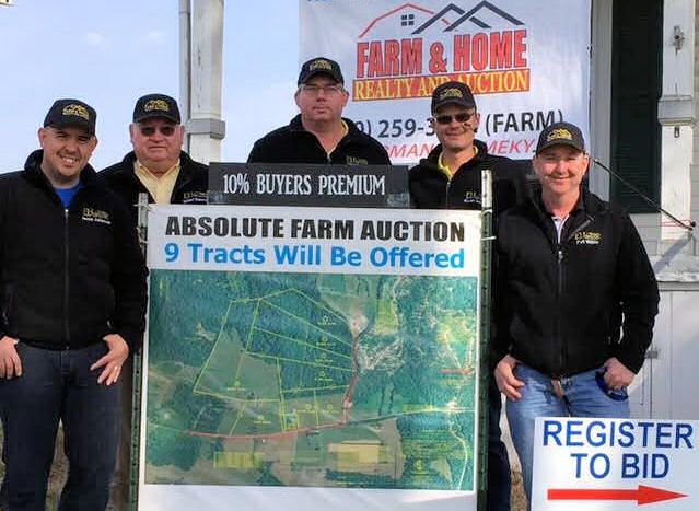 auctioners farm and home real estate
