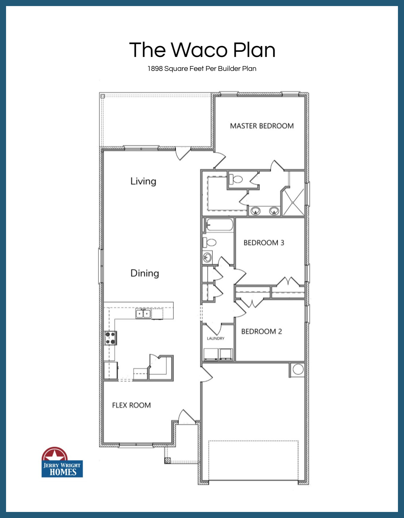 Open Floorplan Homes in Temple TX
