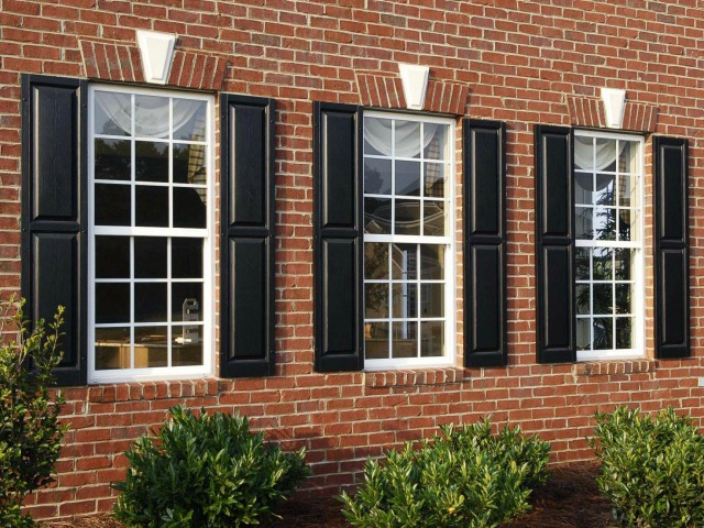 Colonial Style windows for Jerry Wright Homes