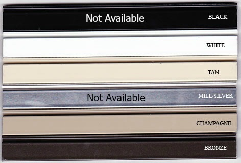 Jerry Wright Window Frame Colors