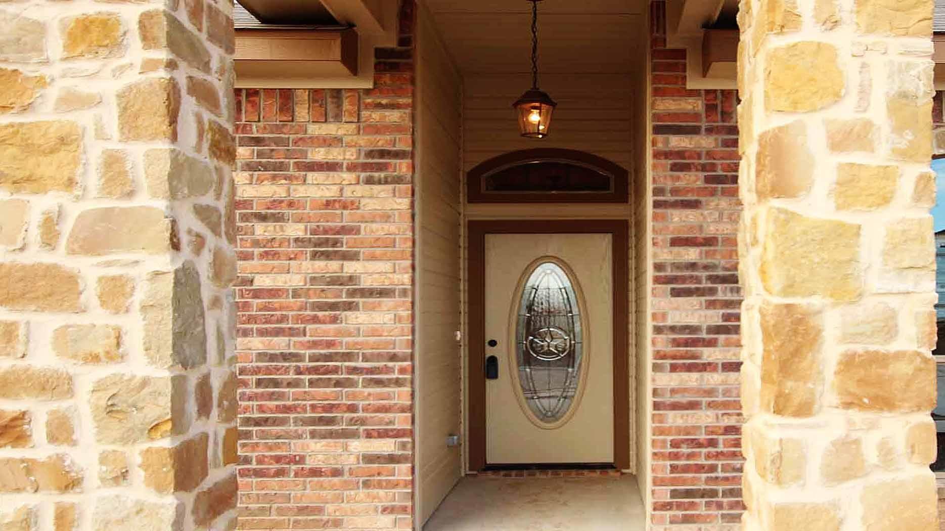 copperas cove texas homebuilder front door