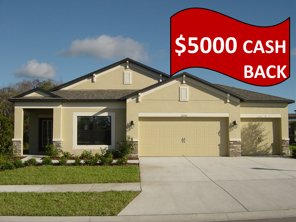New Homes Cash Discount Talavera Spring Hill Florida