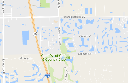 quail west Naples fl location