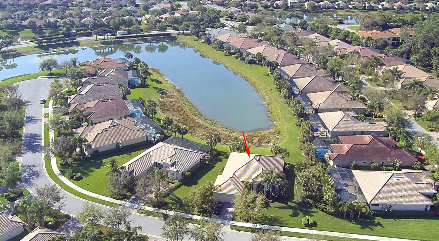 Aerial View of 10305 Wishing Stone Ct, Bonita Springs FL