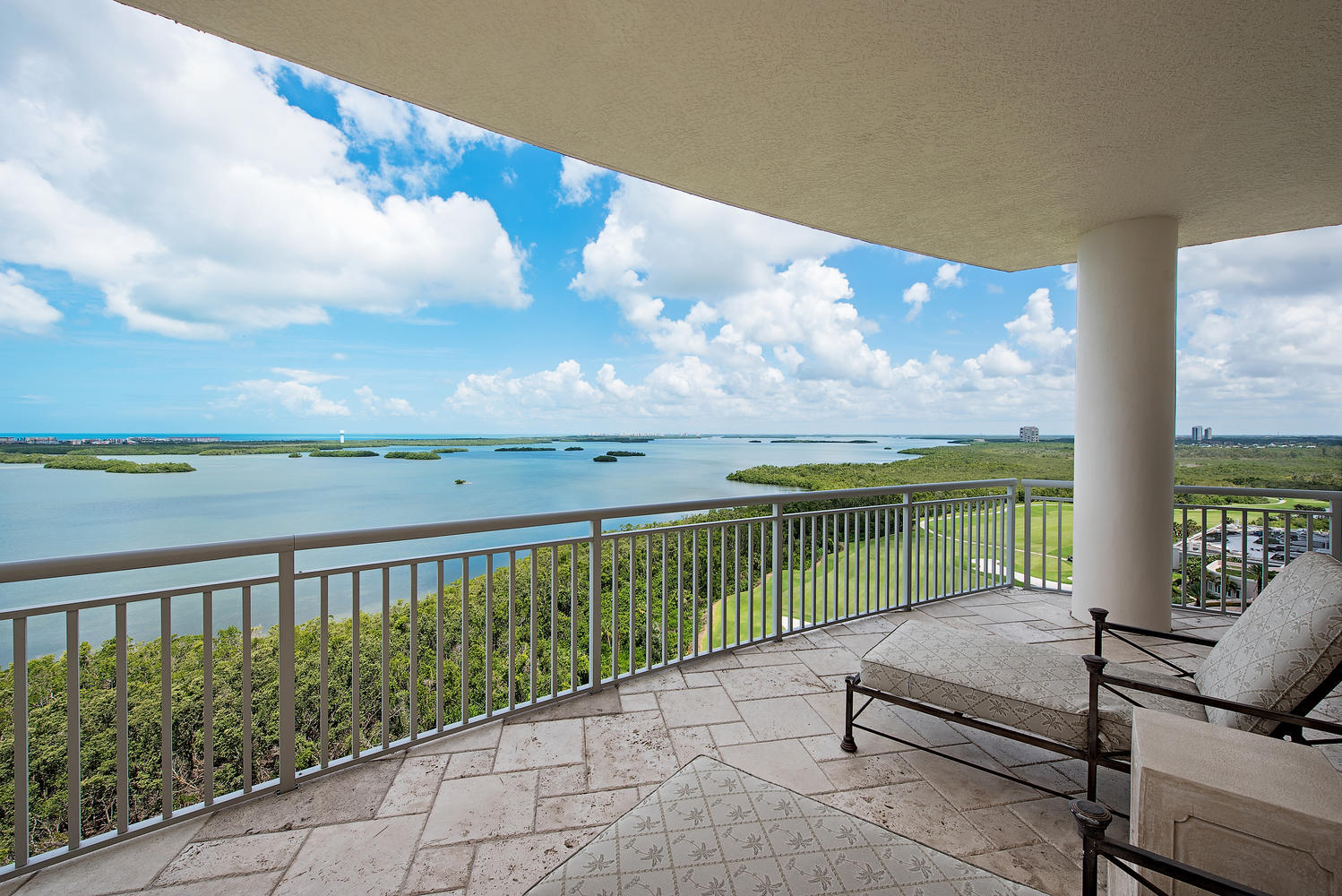 4931 Bonita Bay Blvd #1403 Master Bedroom Balcony View
