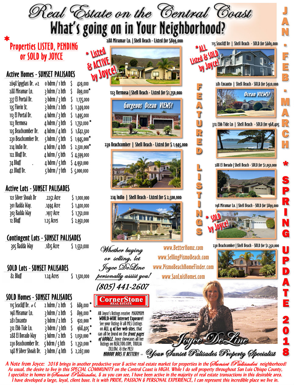 My Newsletter  San Luis Obispo Real Estate And Homes For Sale