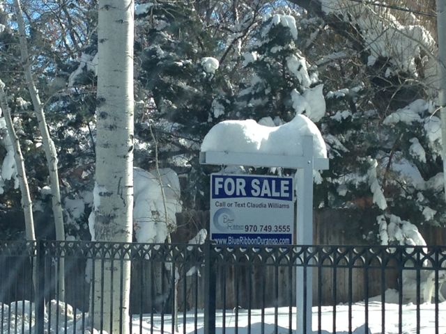 Buying a house in the winter, durango co