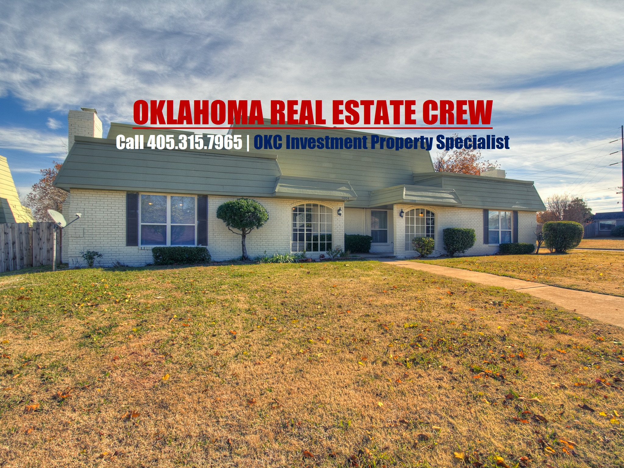 duplex for sale oklahoma city real estate 11000 springhollow rd