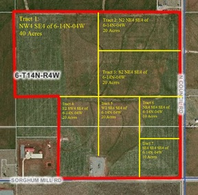 Residential Lots & Land For Sale: Tract 6 of N. Council Rd.