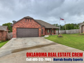 Harrah OK Single Family Home Sold: $174,900