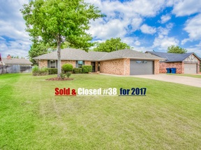 Oklahoma City OK Single Family Home Sold: $165,000