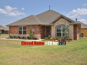 Edmond OK Single Family Home Sold: $218,788