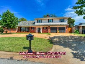 Oklahoma City OK Single Family Home For Sale: $330,000