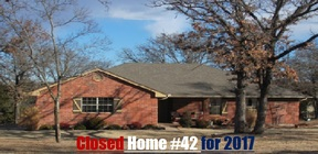 Guthrie OK Single Family Home Sold: $175,000