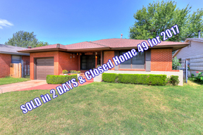Oklahoma City OK Single Family Home Sale Pending: $70,000