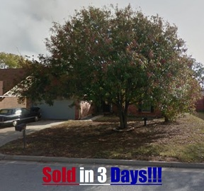 Oklahoma City OK Single Family Home Sold: $110,000