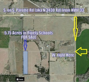 Ripley OK Residential Lots & Land For Sale: $28,750