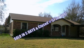 Midwest City OK Single Family Home Sold: $55,000