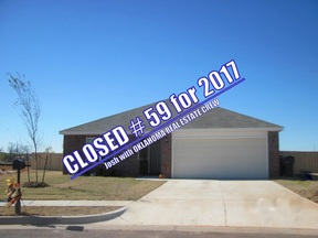 Oklahoma City OK Single Family Home Sold: $143,900