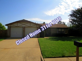 Edmond OK Single Family Home Sold: $105,000