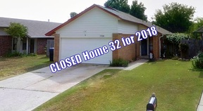 Oklahoma City OK Single Family Home Sold: $129,900