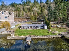 Waterfront Lot Sold: 2417 E Lake Sammamish Pkwy NE