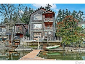 Waterfront Home Sold: 3151 E Lake Sammamish Shore Lane SE