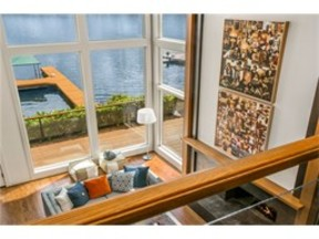Waterfront Home Sold: 842 W Lake Sammamish Pkwy NE