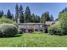Waterfront Home Sold: 3020 W Lake Sammamish Pkwy NE