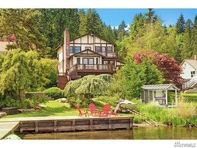 Waterfront Home Sold: 4024 W Lake Sammamish Pkwy SE