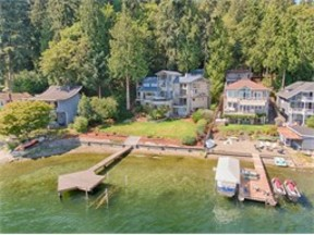 Single Family Home Sold: 542 W Lake Sammamish Pkwy SE