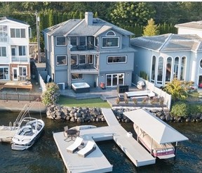 Single Family Home Sold: 4269 E Lake Samm Sh Ln SE