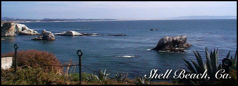 Shell Beach homes have ocean views