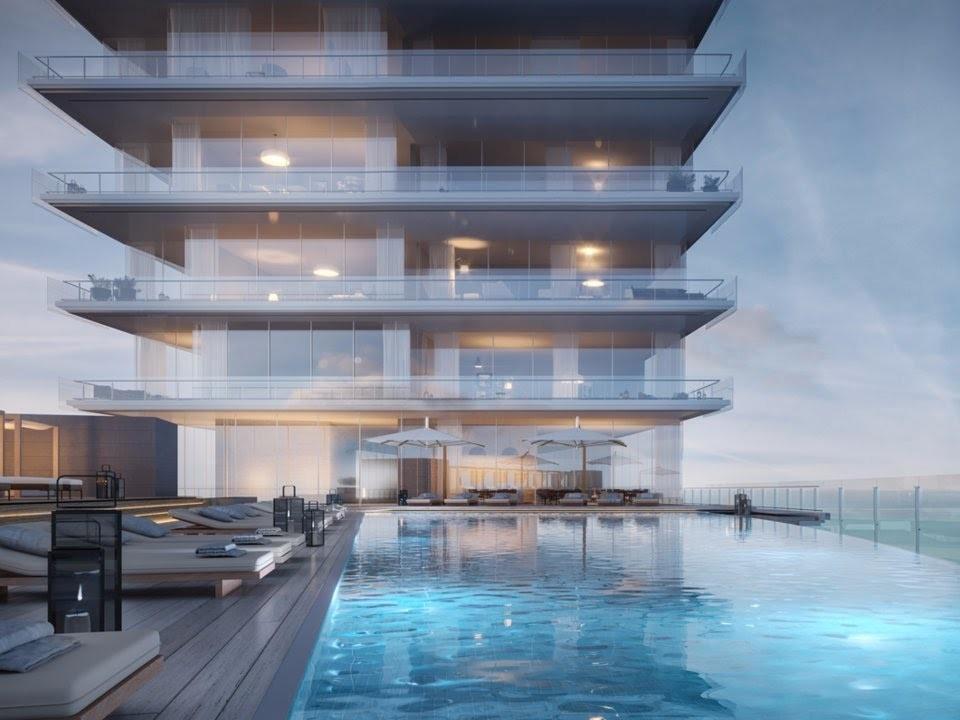 aston martin residences pool deck