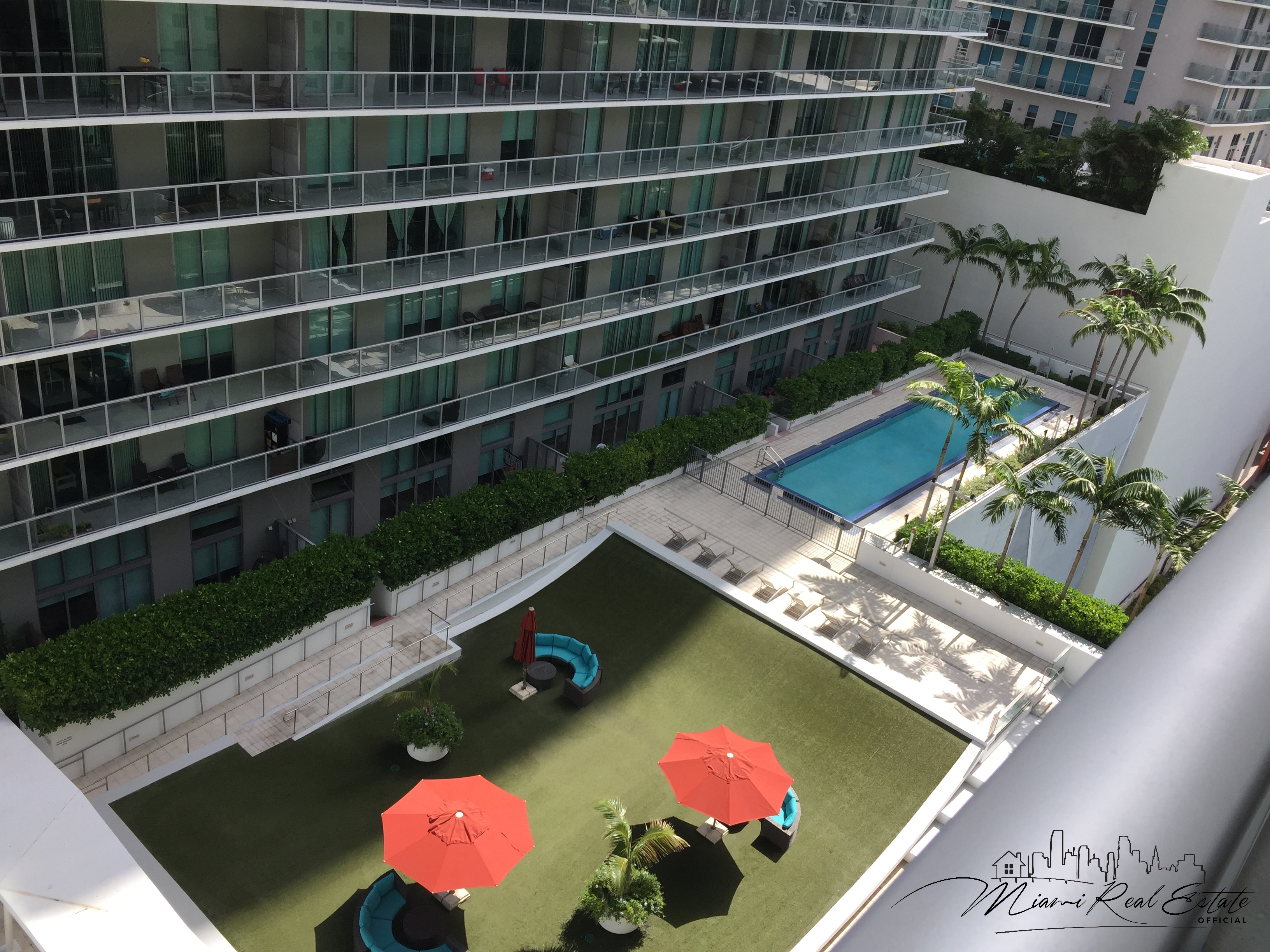axis brickell lap pool