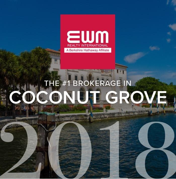 number 1 brokerage in coconut grove