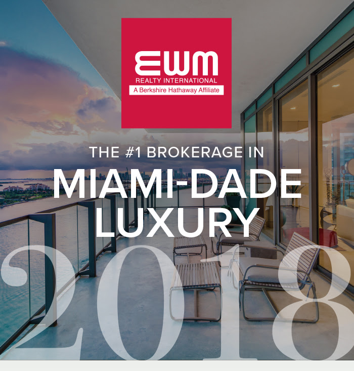 #1 Luxury Brokerage in Miami