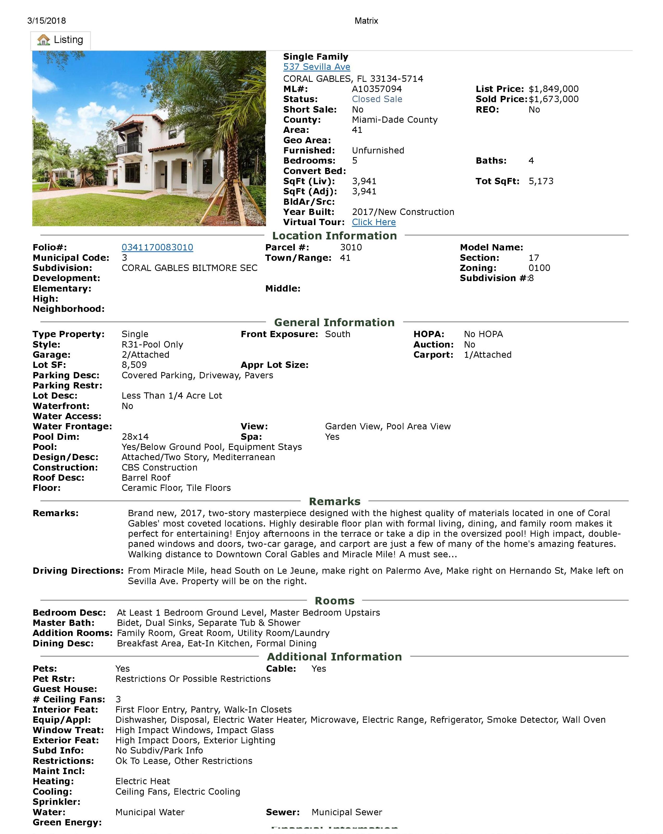537 sevilla avenue coral gables florida 33134