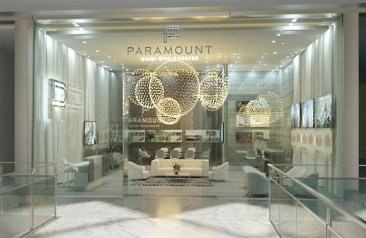 paramount world center entrance