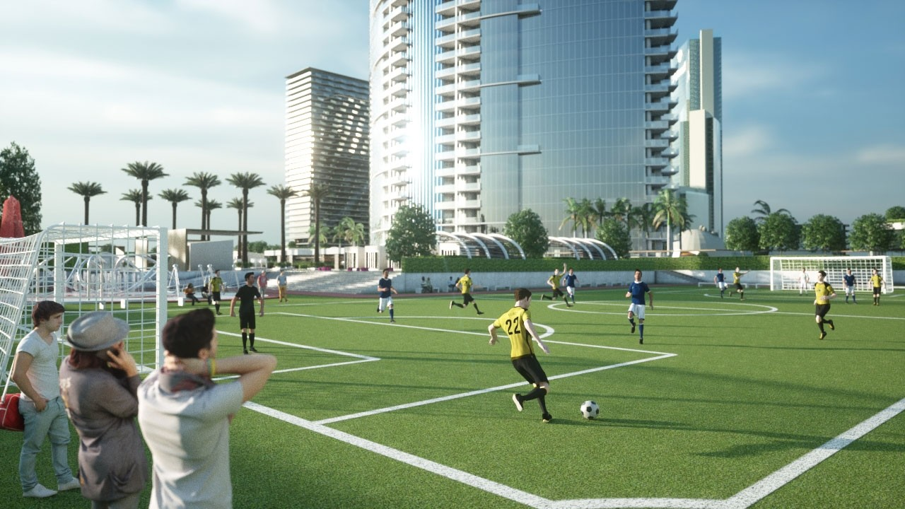 paramount world center soccer