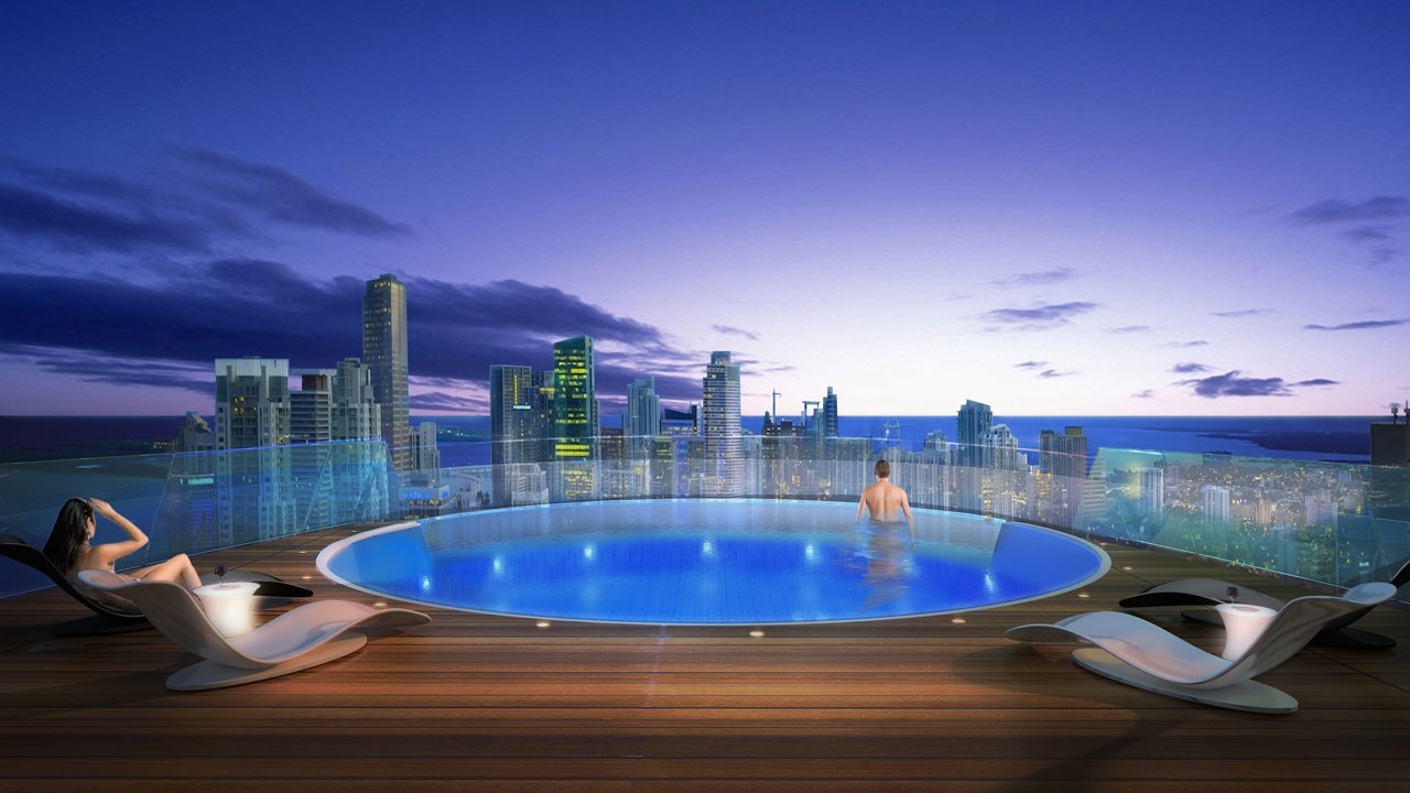 paramount world center pool