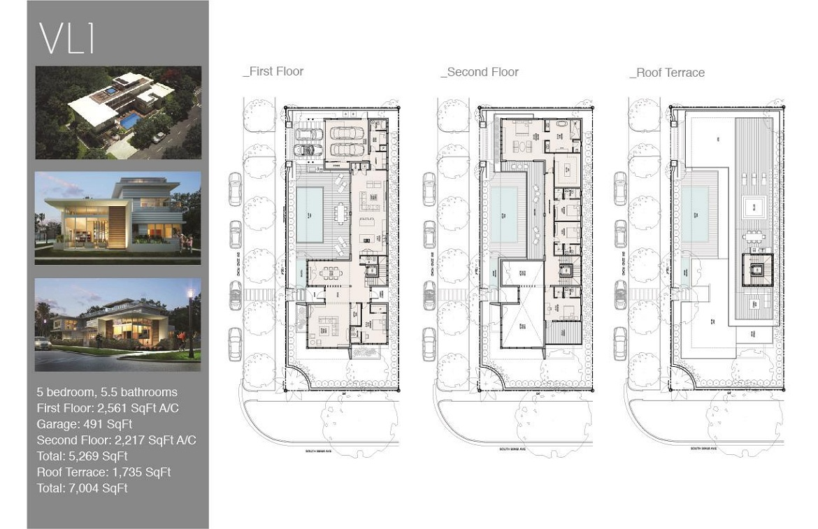 Villa Leone Floor Plan 1