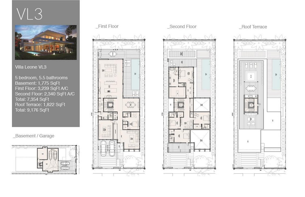 Villa Leone Floor Plan 3
