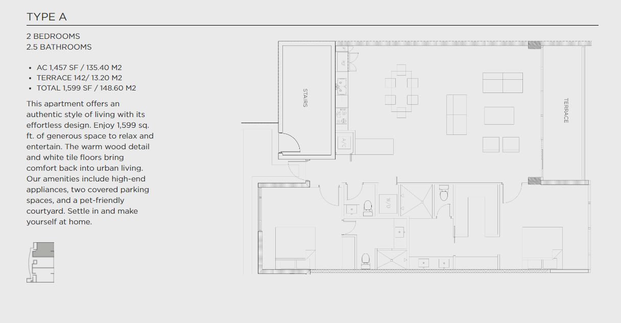 Wynwood 26 Floor Plan A