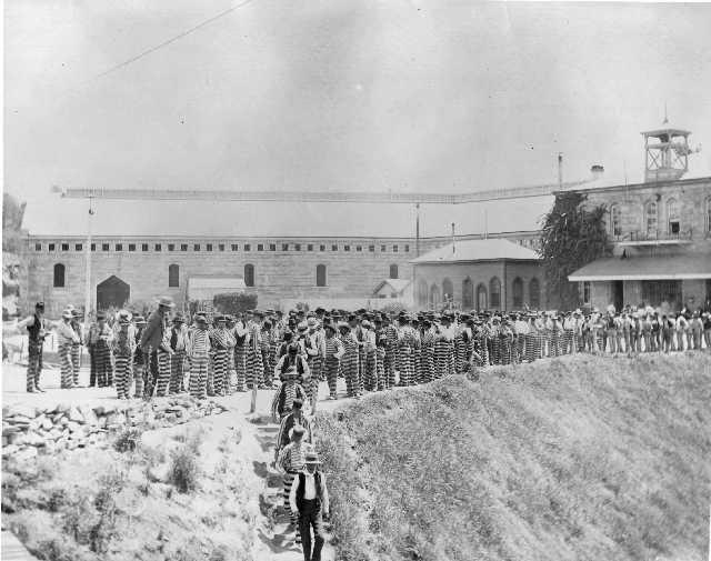 History of Folsom. Folsom Prison.