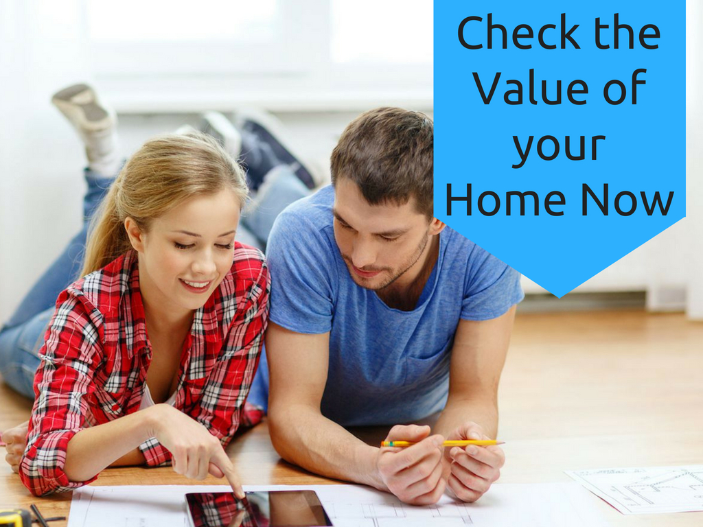 check the value of your home